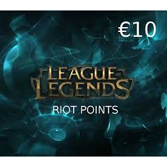 €10.00 League Of Legend Gift Card NA Only  (Instant Delivery)