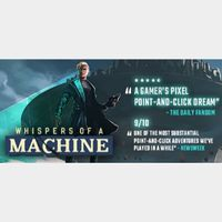 whispers of a machine Steam Key Global (Instant Delivery)