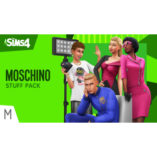 The Sims 4 Moschino Stuff Pack Origin Key GLOBAL