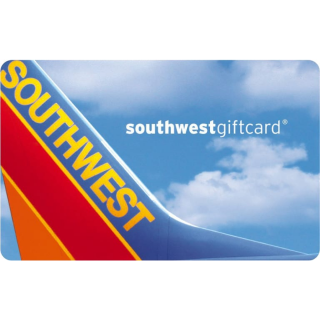 $100.00 Southwest Airline Gift card instant auto delivery