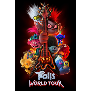 Trolls World Tour 4k UHD Movies Anywhere instant auto delivery