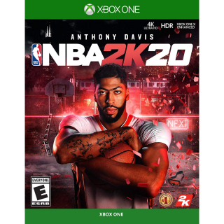 NBA 2k20 Xbox one INSTANT auto delivery US
