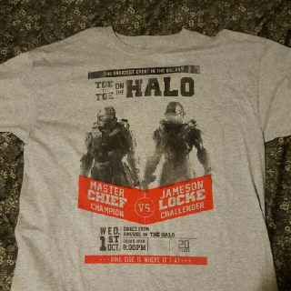 New Halo 5 Challenge T Shirt L, XL, XXL