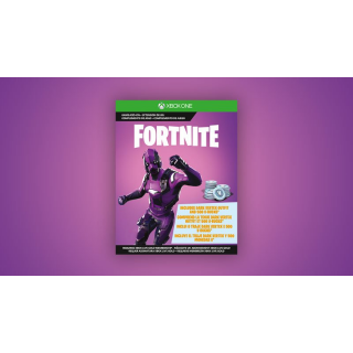 Fortnite Legendary Dark Vertex outfit and 500 V-Bucks Xbox One Instant delivery Skin