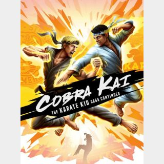 Cobra Kai: The Karate Kid Saga Continues Sony PlayStation 4 5 PS4 PS5 digital code instant automatic delivery