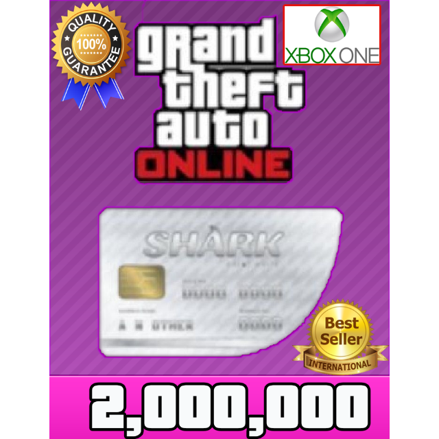 GTA V Money XBOX ONE GTA Online $2.000.000 (READ DESCRIPTION)