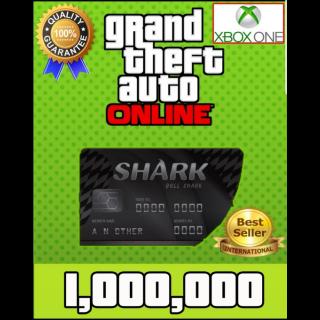 GTA V Money XBOX ONE GTA Online $1.000.000 (READ DESCRIPTION)