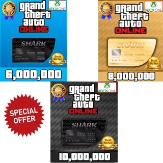 I will GTA V Money Xbox One (choose your package 6,8 or 10 millions) GTA 5 ONLINE
