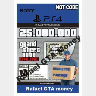 Gta 5 Shark Card Money PS4 Grand Theft Auto V Online $ 25,000,000 NOT CODE Read description cash