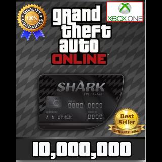 GTA V Money XBOX ONE GTA Online $10.000.000 (READ DESCRIPTION)