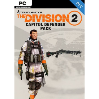 The Division 2 CAPITOL DEFENDER PACK DLC PC ONLY/Instant DELIVERY!! Region Free