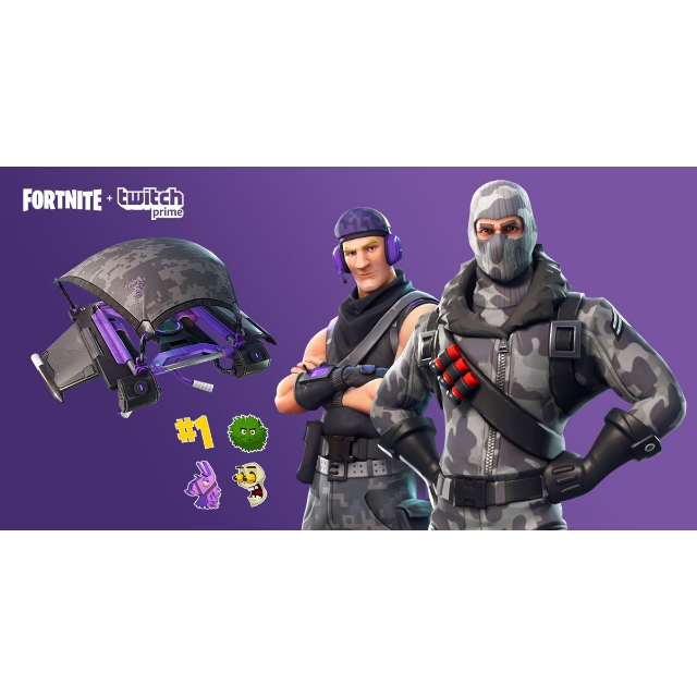 Fortnite Twitch Prime Pack   all platforms  - PS4 Games