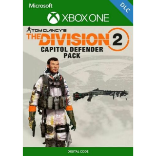 The Division 2 CAPITOL DEFENDER PACK DLC XBOX ONE/Instant DELIVERY!! Region Free