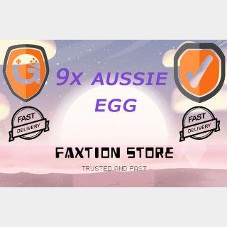 Pet | 9x Aussie Egg
