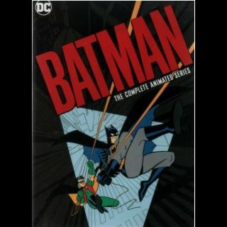 BATMAN: THE COMPLETE ANIMATED SERIES | VUDU HD |NOT MA