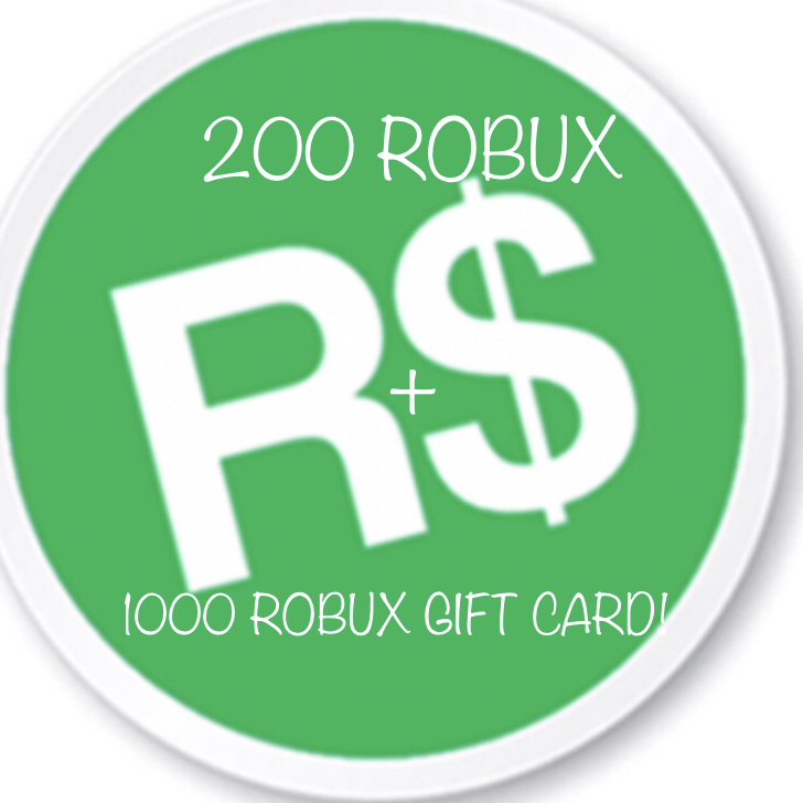 Bundle 1k Robux Card 200 Robux In Game Items Gameflip