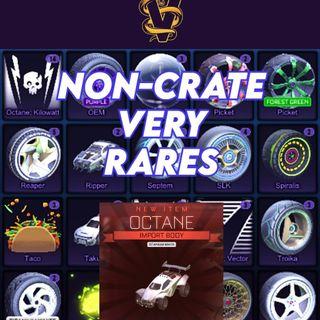 5x Non Crate Very Rares