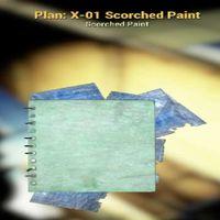 Plan | X-01 Scorched Paint