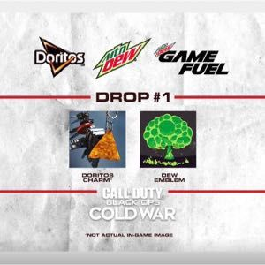 Call of duty Cold War charm and calling card