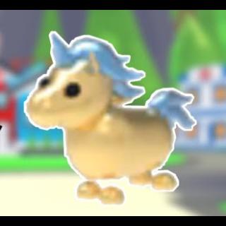 Pet Golden Unicorn Adopt Me In Game Items Gameflip