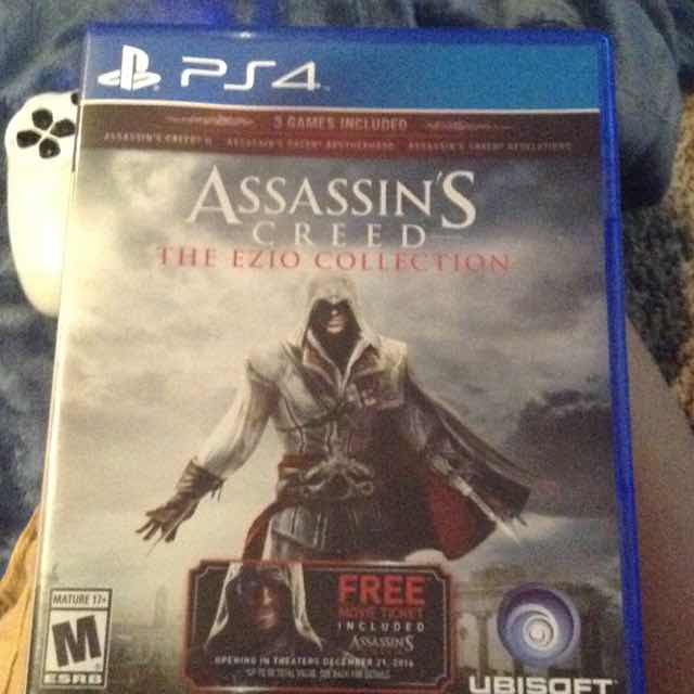 Assassin S Creed The Ezio Collection Ps4 Games Like New