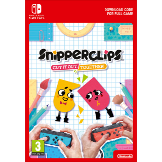 Snipperclips Cut it out, together! (Immediate Delivery) for Nintendo Switch