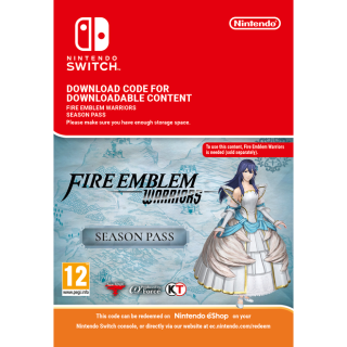 Fire Emblem Warriors Season Pass (Immediate Delivery) for Nintendo Switch