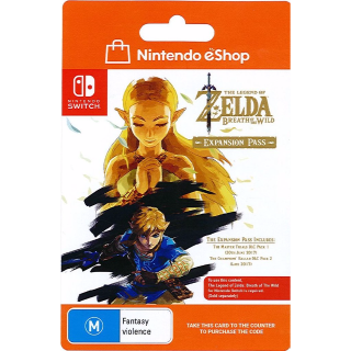 Legend of Zelda: Breath of the Wild Expansion Pass (Immediate Delivery) for Nintendo Switch