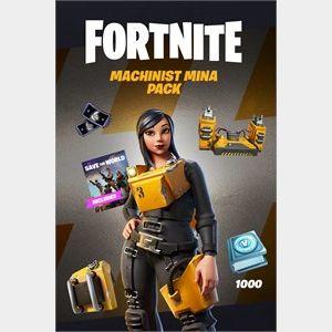 Fortnite - Machinist Mina Pack