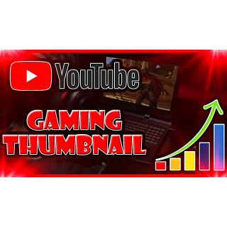 I will Design A Professional Gaming YouTube Thumbnail