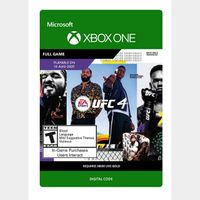 EA Sports UFC 4 (Xbox One) - Xbox Live Key - GLOBAL