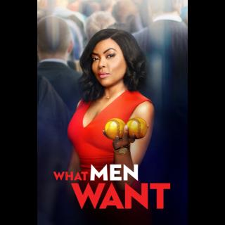 What Men Want (Paramountmovies.com) iTunes,vudu,fandango