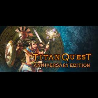 Titan Quest: Anniversary Edition + Titan Quest: Ragnarok DLC - Steam Key