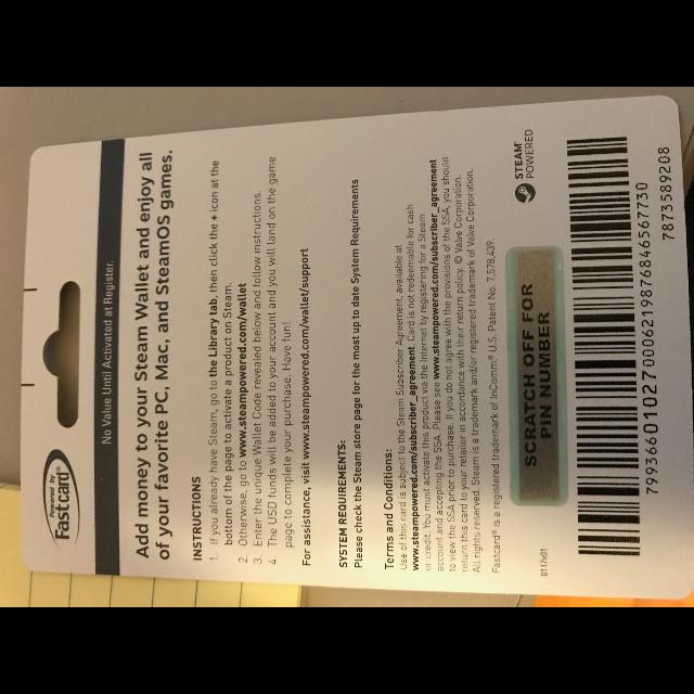 50 00 Steam Steam Gift Cards Gameflip