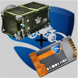 Bundle | Vindicator Crate+Key|40x