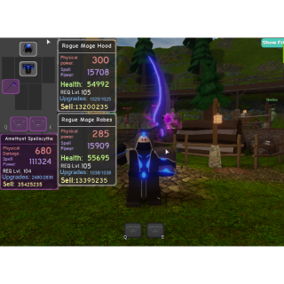 Bundle Rogue Mage Set Canal In Game Items Gameflip
