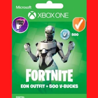 Fortnite Bundle: Eon + 500 VBUCKS 🔑✅