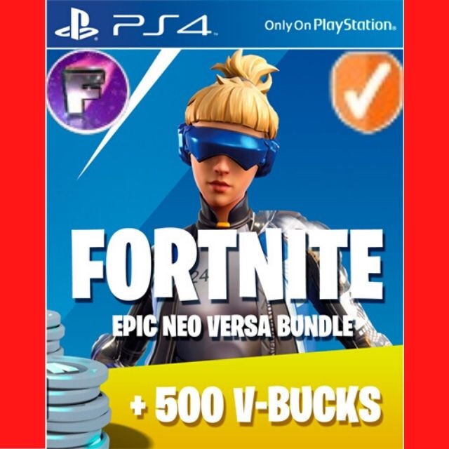 Neo Versa+500 V-Bucks EU Fortnite PS4