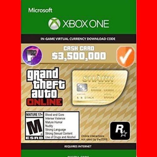 GTA Online: The Whale Shark Cash Card XBOX ONE GLOBAL