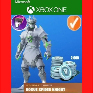 Code | Fortnite Rogue Spider