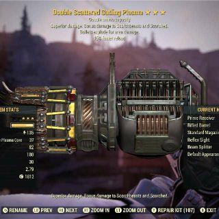 Weapon | DE15 GAT PLAS