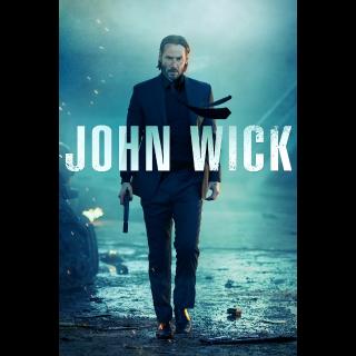 John Wick 1 & 2 4K UHD Movie Redeem