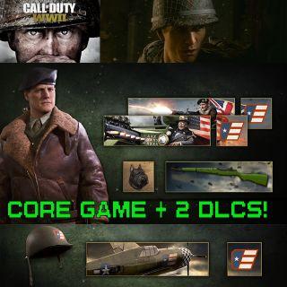 "Call of Duty: WWII +2 DLCs: ""Endowment Bravery"" & ""Endowment Fear Not"" STEAM keys"