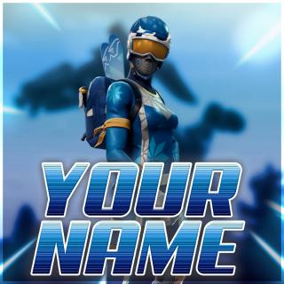 I will create a fortnite/any game logo