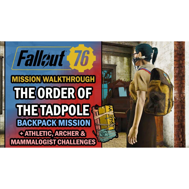 """I will Complete the """"The Order of the Tadpole"""" Quest for your backpack."""