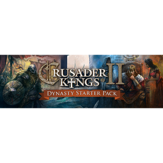 Crusader Kings II: Dynasty Starter Pack (Steam, Instant Delivery)
