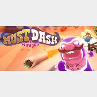 Must Dash Amigos (Steam, Instant Delivery)