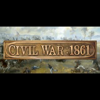 Civil War: 1861 (Steam, Instant Delivery)