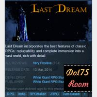 Last Dream●STEAM/Automatic delivery