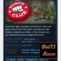Punch Club●STEAM/Auto delivery